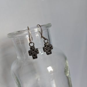 Silpada Cross Ear Rings